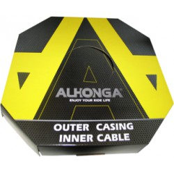 50 CABLES DE FRENO ALHONGA INOXIDABLE