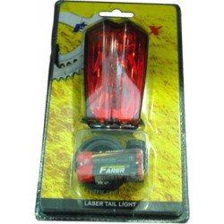 LUZ TRASERA 5 LEDS