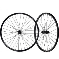 "JUEGO RUEDAS 26"" MACH MX-DISC BUJE SHIMANO CENTER LOCK NEGRO"