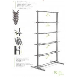 Shelf display 10 bicis