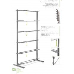 Shelf display 5 bicis
